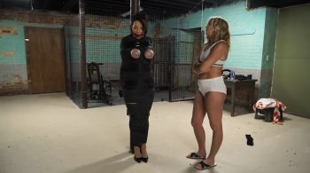 Escaped inmate humiliates the inept guard – Bondage: JJ Plush, Born to be Bound