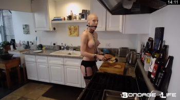 Kitchen Time with Greyhound – Bondage Life – Rachel Greyhound