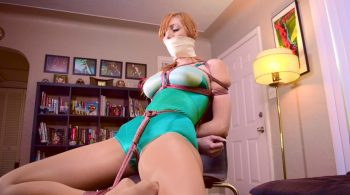 Lauren Phillips.. Green Girdle Bound – ShinyBound Productions
