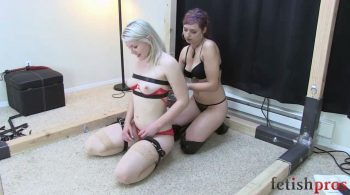 Missy plays with her new toy Ella – Fetish Pros Bondage Fetish Videos
