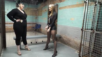 Rose and the crazy Warden part 1-2 (Full Video) – Handcuffed Girls