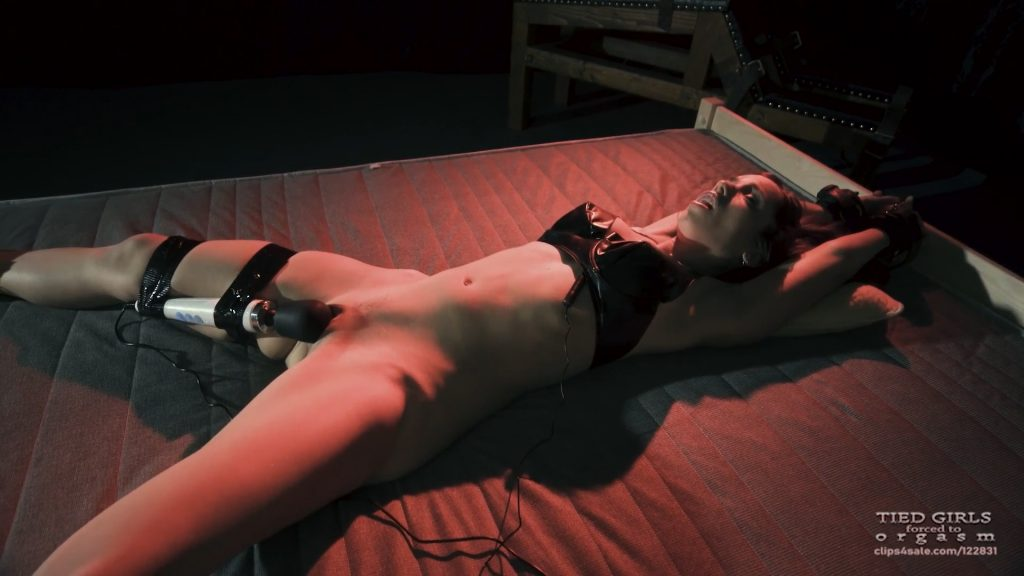 Tied Nina's forced orgasm – Tied girls forced to orgasm