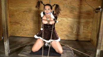A Little Eskimo Girl Endures A Cold Winter Night – Brendas Bound Bondage Addictions