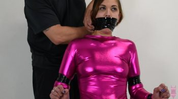 Ayla Aysel chair tied – Swimsuit Bondage
