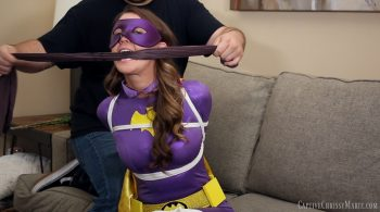 Batgirl vs. The Bad Boy Scout – Captive Chrissy Marie