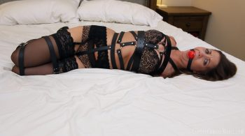 Belt Bondage Surprise – Captive Chrissy Marie