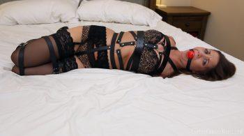 Belt Bondage Surprise – Captive Chrissy Marie