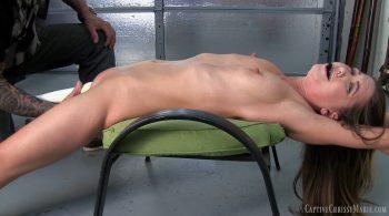 Erotic Stretch & Backbend Tease Finale – Captive Chrissy Marie
