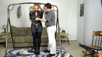 Jamie Knotts – Catsuit and Strappado – Cinched and Secured