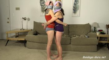Mother Daughter Panty Gag Party! – Cinched and Secured