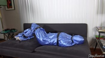 Sadie Holmes.. Living Doll Satin Encasement – ShinyBound Productions