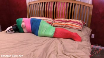 Summer vs. Her Rainbow Wrap – BondageJunkies Clips