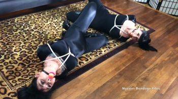 Nyxon & Luna Dawn… Cat Burglars Double Crossed – Nyxons Bondage Files