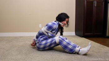 Khristall's Peril In Pajamas – Captive Chrissy Marie