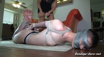 BRUTALLY BOUND FOR CRUEL BASTINADO – MILF GiGi's Bondage Fantasies