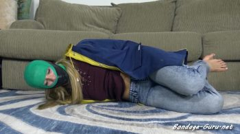 Claire Irons' Magic MultiGag Hogtie! – Cinched and Secured