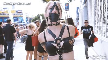 Gagged Fantasy – Rachel Adams Folsom Street Fair 2018