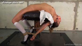 Captive Chrissy Marie – Backbend Bondage Torture