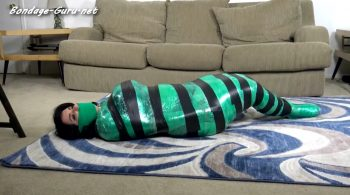 Bettie's First Mummification – Cinched and Secured