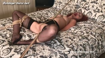 Luna Lain… Bedroom Predicament – Nyxons Bondage Files