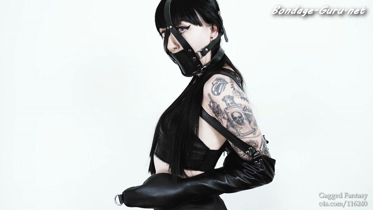 Ramona Ryder Leather Bondage