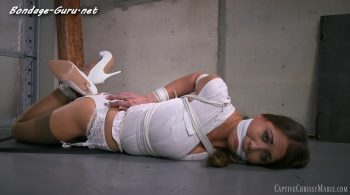You Wouldn't Dare Tie Me Up! – Captive Chrissy Marie