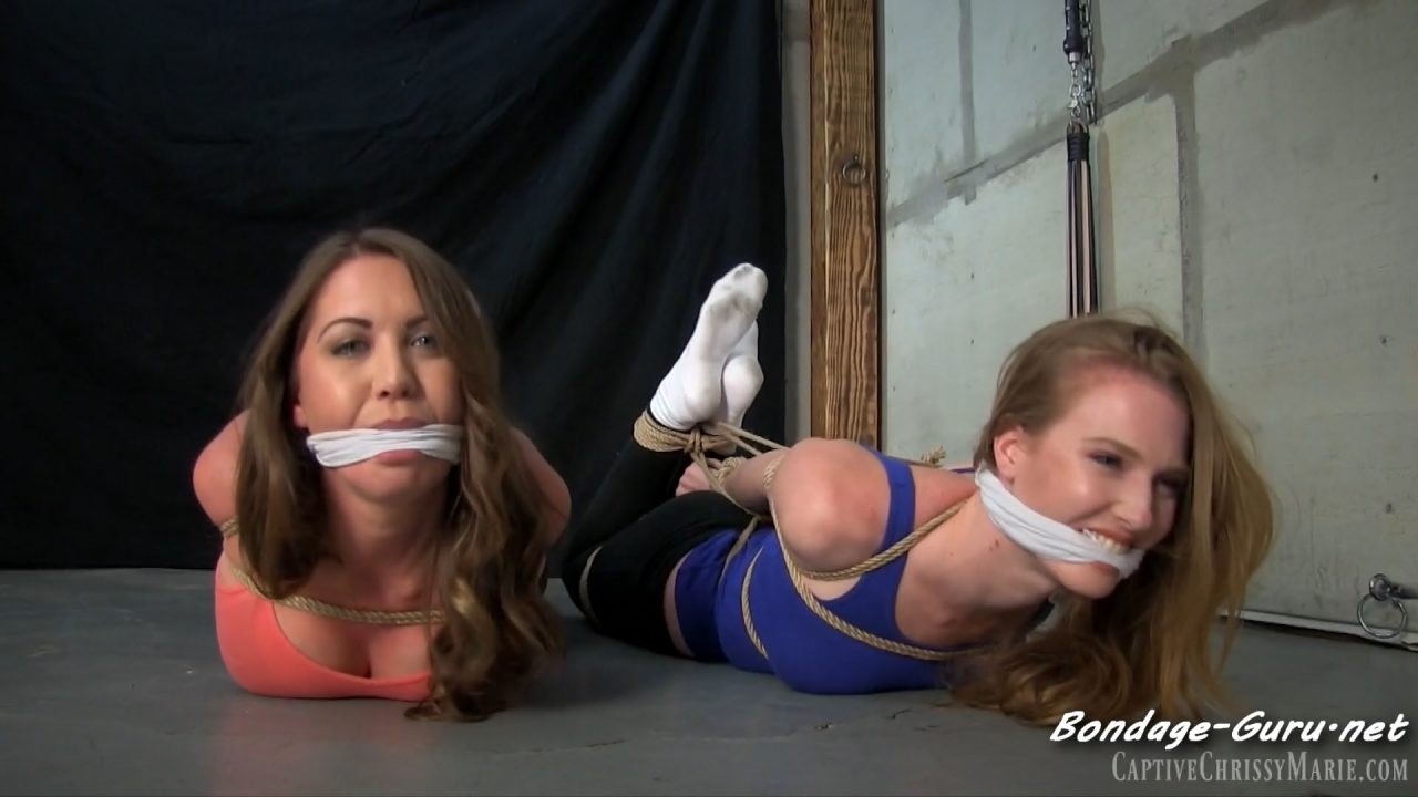 Ashley & Chrissy_Best Friends In First Time Bondage