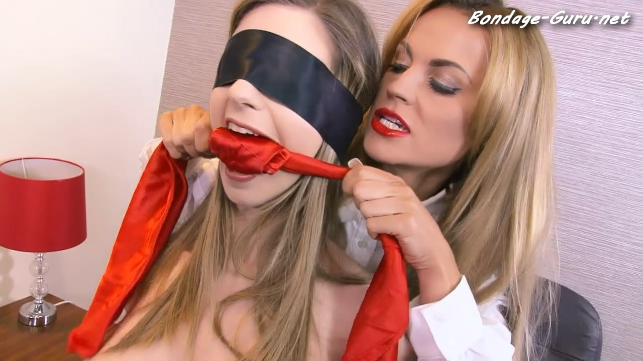Blindfolding The Boss
