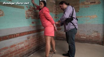 Anna found at a hotel part#2 – Handcuffed Girls