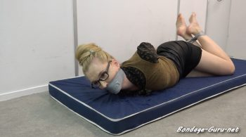 Ariel Anderssen – Lawyer Taped Up by Inmate – Restricting Ropes