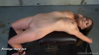 Bound Belly Torture – Captive Chrissy Marie