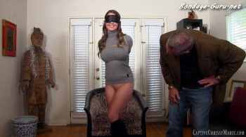 Bound To Overcome Dentophobia – Captive Chrissy Marie
