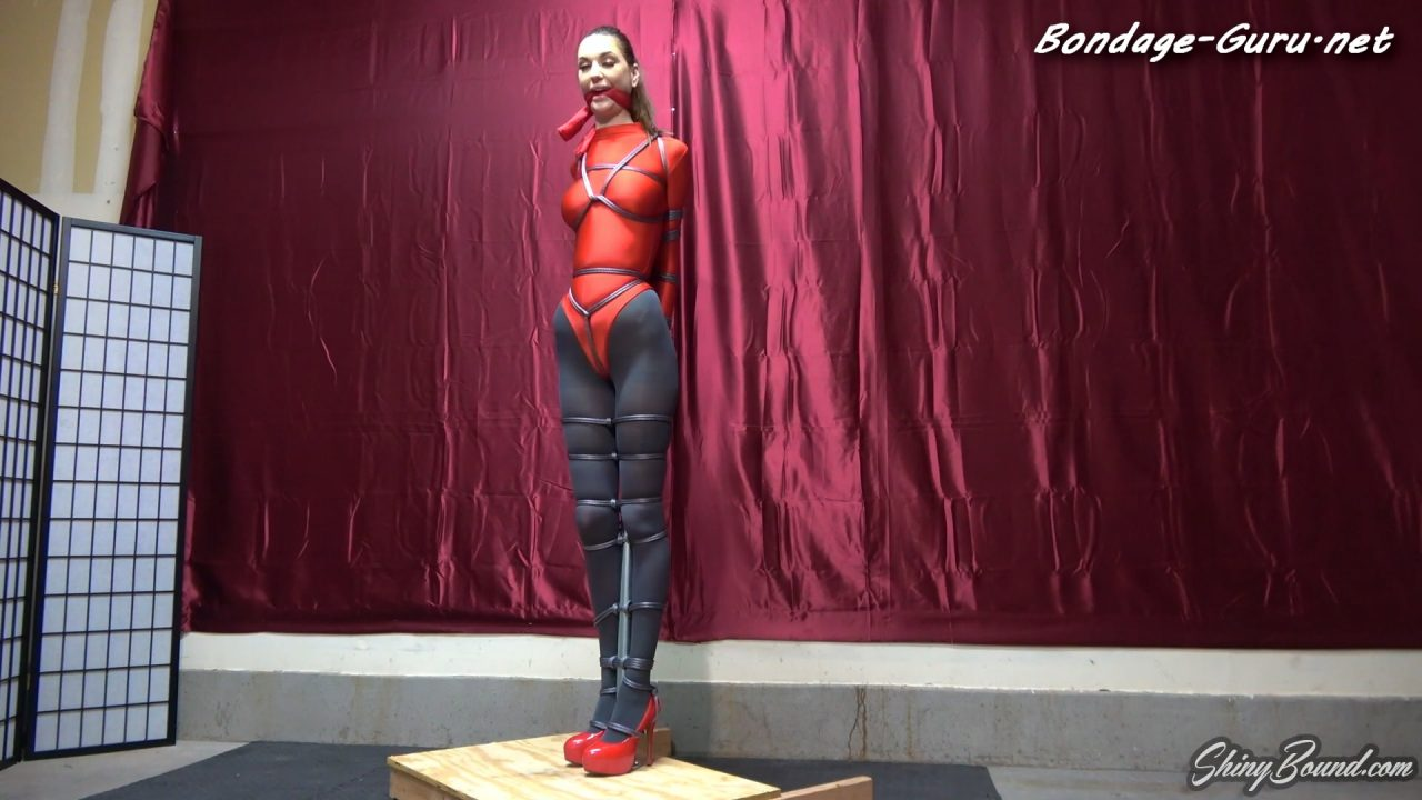 Rocky Emerson Bestie in Leotard Bondage
