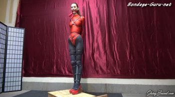 Rocky Emerson Bestie in Leotard Bondage – ShinyBound Productions