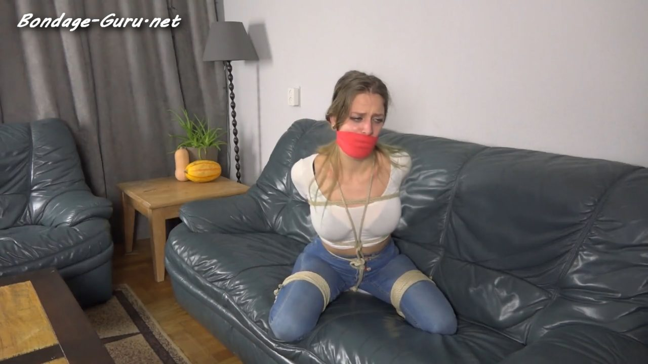Violet Haze_Girl Next Door Frogtied