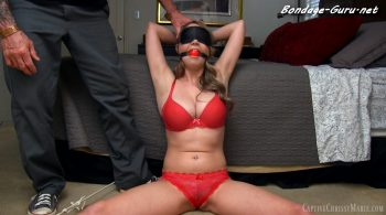 A Bedroom Bondage Predicament – Captive Chrissy Marie