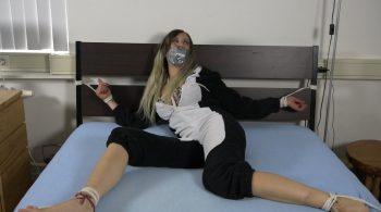 Julie Vega – Ambushed In Her Sleep HD – Restricting Ropes