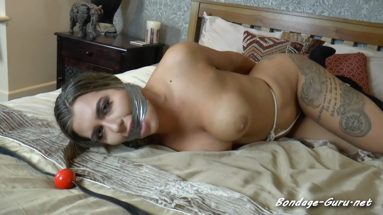 Daisy in The Deeply Sexy Trussed Up Dominatrix Robbery Caper