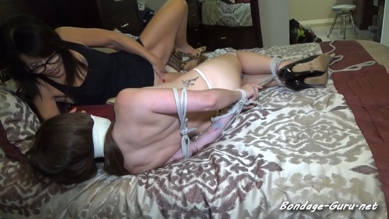 PROM QUEEN STRIPPED & TIED UP