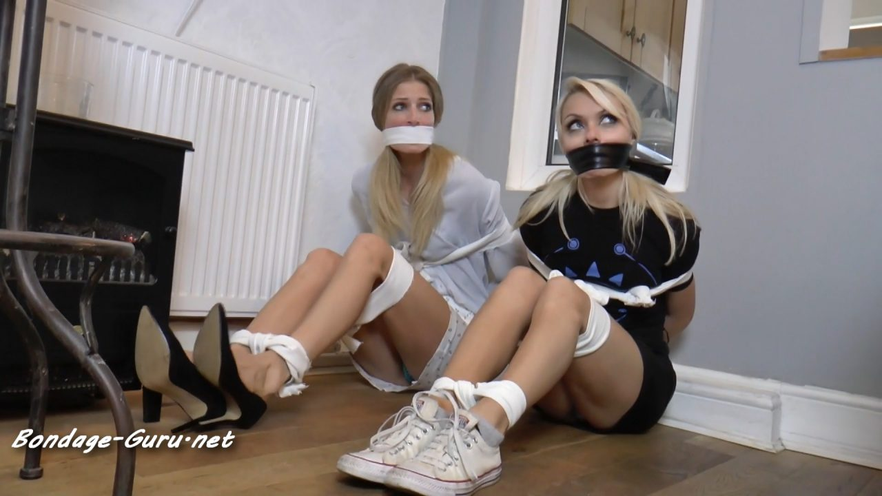 Rebecca & Chloe in_One of Our Mini-Skirt Models is Missing
