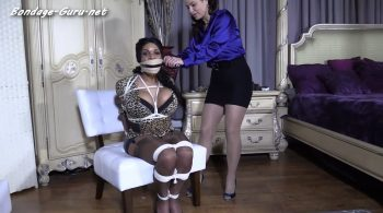 Meet Dawn Isabella, her first time in bondage EVER!! – Bondage: JJ Plush, Born to be Bound