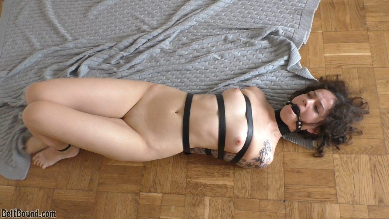 Yana strapped