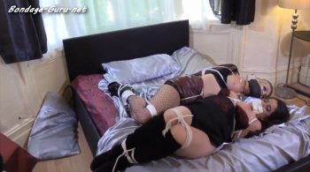 BARE BREASTED DYKES DOUBLEGAGGED AND TORMENTED pt 2 HD  – Bondage Diversity