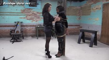 Pretty PVC domme being dominated – Bondage: JJ Plush, Born to be Bound