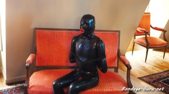 WendyWarrior: Endurence Challenge in latex catsuit – Bondage Games