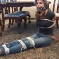 Busty Babysitter Candle Boxxx Plays Cops & Robbers with YOU In Jeans & Tight T_Shirt