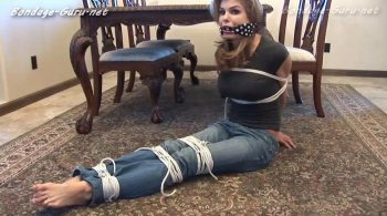 Busty Babysitter Candle Boxxx Plays Cops & Robbers with YOU In Jeans & Tight T-Shirt! – Bondage by Centaur Celluloid