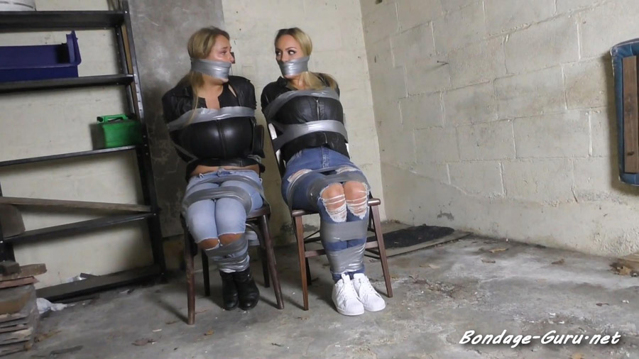Jenna and Katie in The Fiendish Leopards Colony House Caper Baffling Crimes