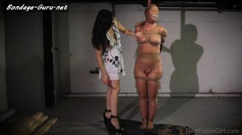 That Bondage Girl – Neighborly Encasement Punishment – Fayth On Fire, Dixie Comet