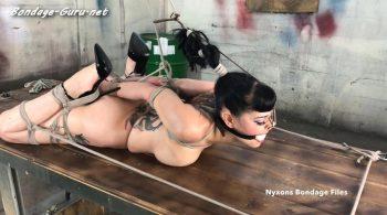 Nyxons Bondage Files – Nyxon Forced To Endure 3 Excruciating Ties pt 3 HD